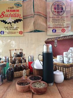 Q en el 1er. Festival del café