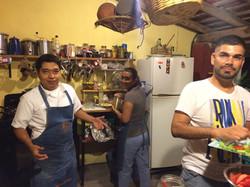 Lizandro, Lupe y Ernesto