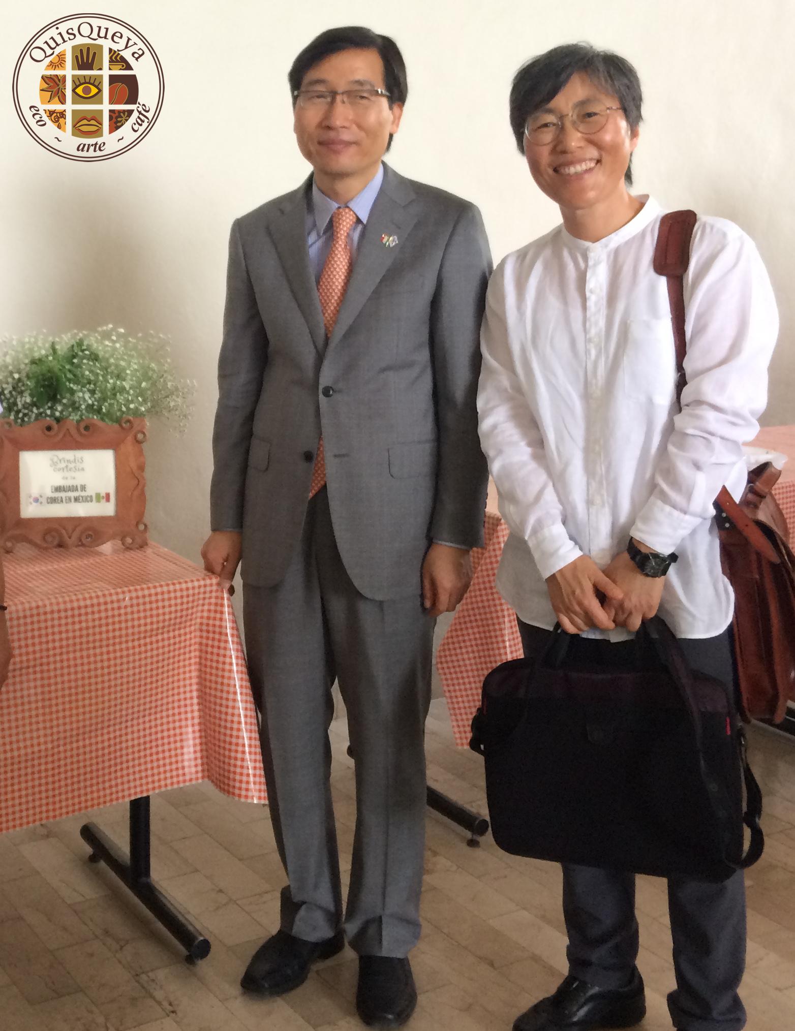 Brindis cortesía /Embajada de Corea