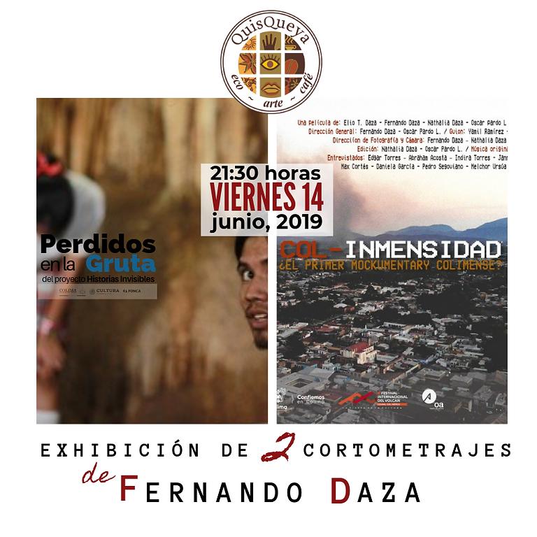 Exhibición de 2 cortometrajes de Fernando Daza