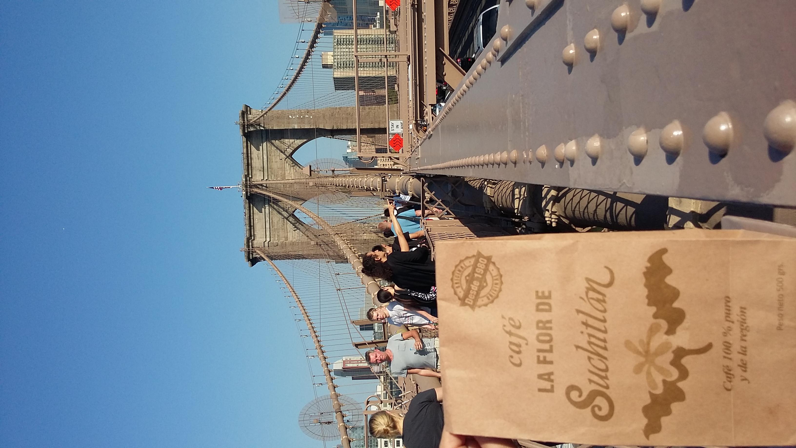 Desde el Puente de Brooklyn