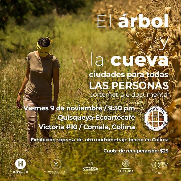"""Presentación del documental """"El Árbol y la cueva"""""""