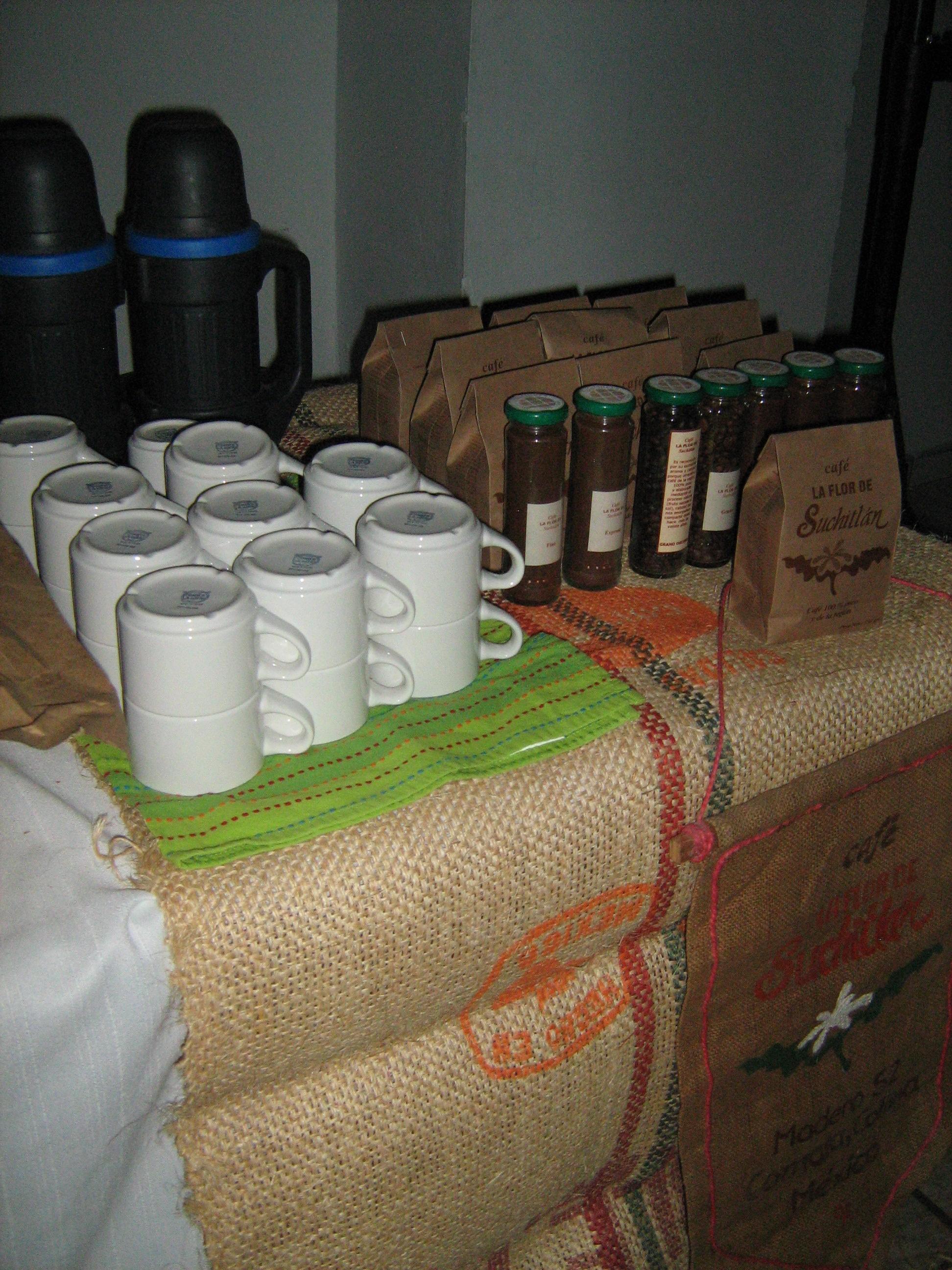 """Q café """"La FLOR de Suchitlán"""""""