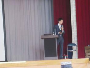 大垣商業高等学校創立117年記念講演にて登壇させていただきました。