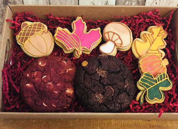 Herbst Cookie Box