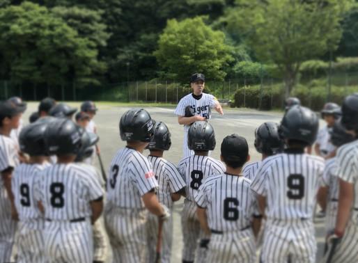 「緑園ラービー」野球教室&保護者向けデュアルキャリアセミナー