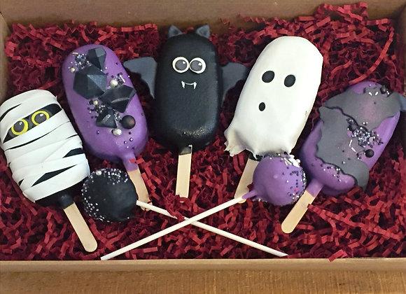 Halloween Cakesicle Box