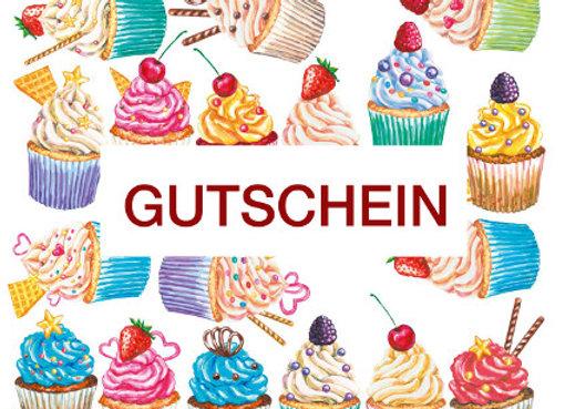 Gutschein für Cupcakes & Co