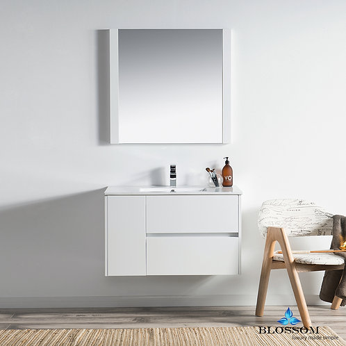 "Blossom Valencia 36"" Vanity Set with Mirror 0163601M"