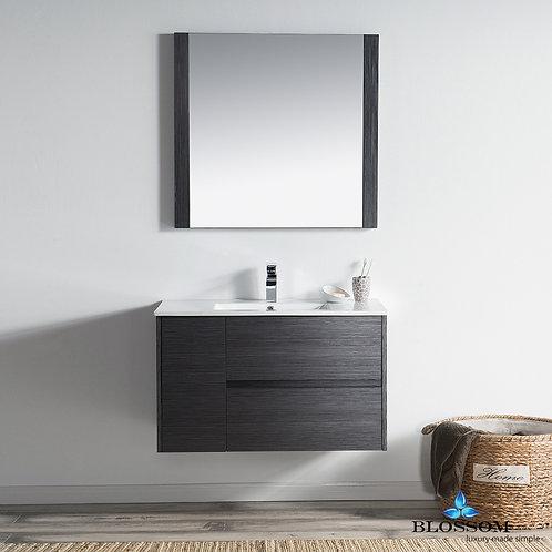 "Blossom Valencia 36"" Vanity Set with Mirror 0163616M"