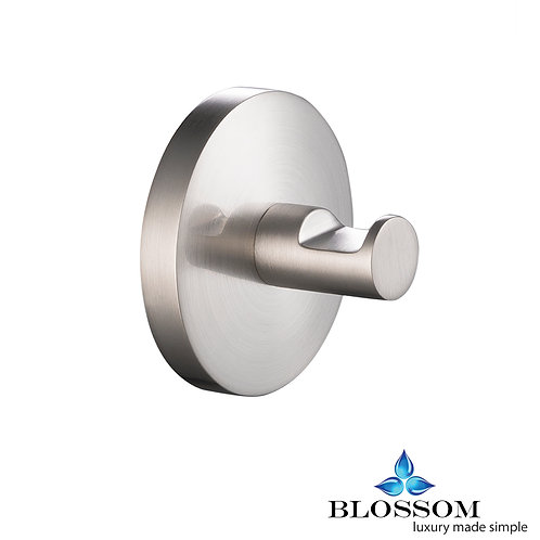 Blossom Robe Hook - Brush Nickel BA0250102
