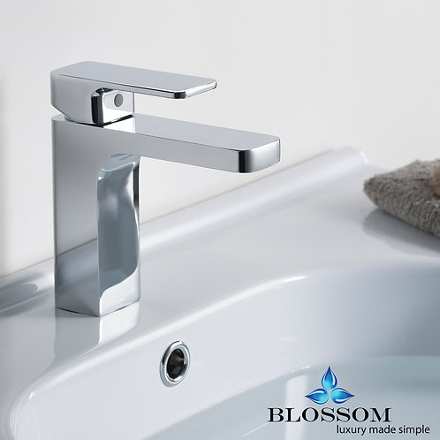 Blossom Single Handle Lavatory Faucet - Chrome