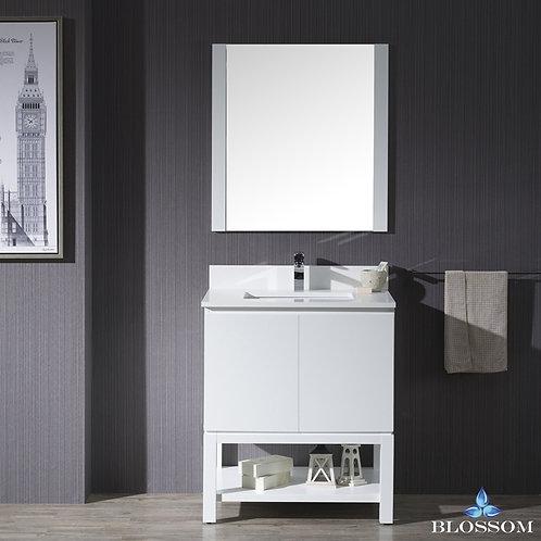 """Blossom Monaco 30"""" Vanity Set with Mirror 0003001M"""
