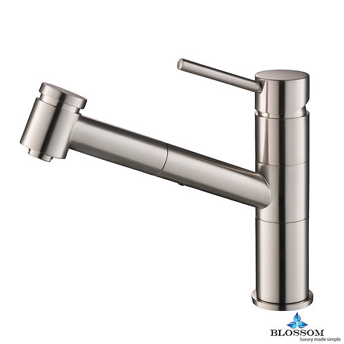 Blossom Single Handle Pull Down Kitchen Faucet - Brush Nickel F0120702