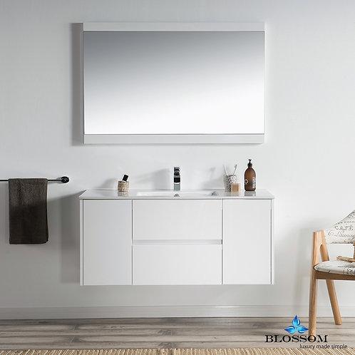 "Blossom Valencia 48"" Single Vanity Set with Mirror 0164801SM"