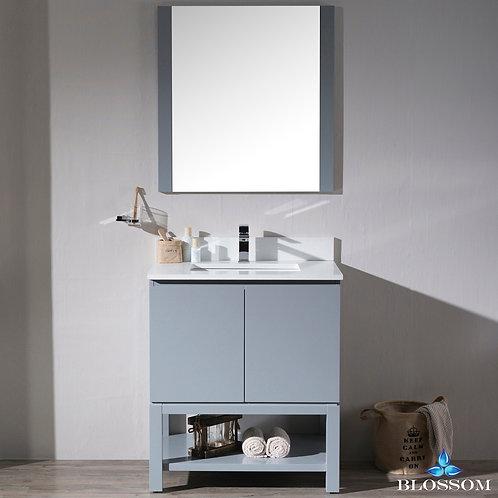 """Blossom Monaco 30"""" Vanity Set with Mirror 0003015M"""