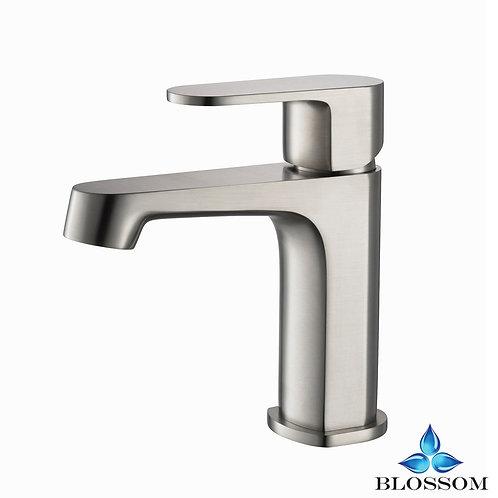 Blossom Sancy Single Handle Lavatory Faucet - Brush Nickel F0130202
