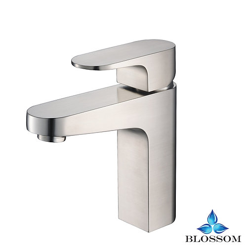 Blossom Chloe Single Handle Lavatory Faucet - Brush Nickel F0130402