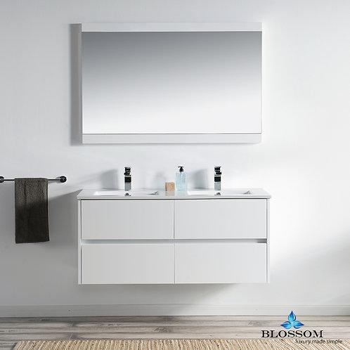 "Blossom Valencia 48"" Double Vanity Set with Mirror 0164801DM"