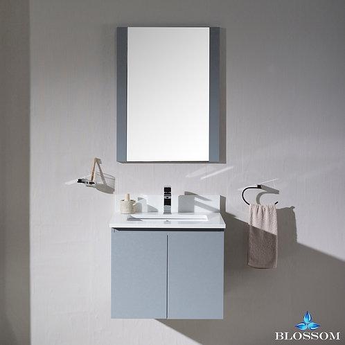 "Blossom Monaco 24"" Wall Mount Vanity Set with Mirror 0002415WHM"