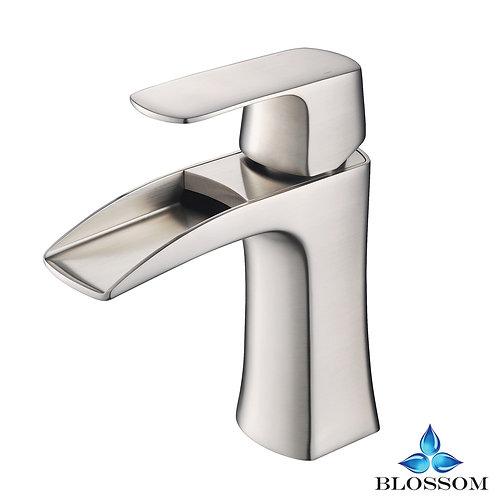 Blossom Polar Single Handle Lavatory Faucet - Brush Nickel F0130102