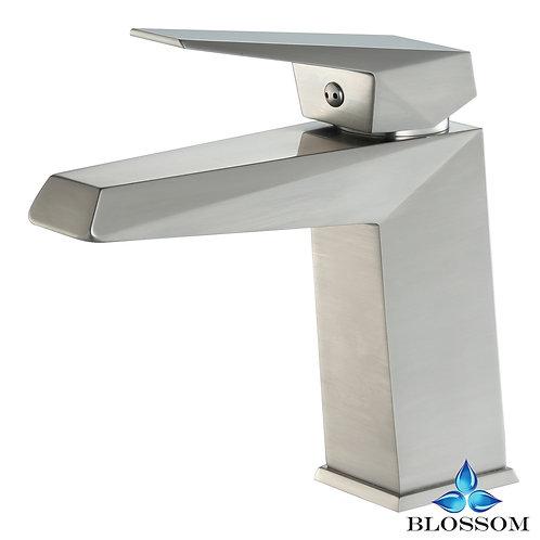 Blossom Single Handle Lavatory Faucet - Brush Nickel F0110102