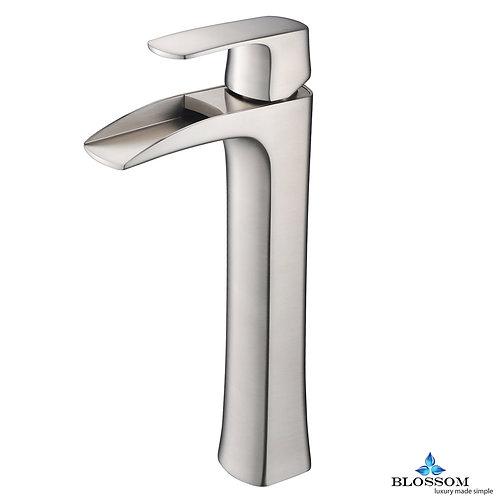Blossom Single Handle Lavatory Faucet - Brush Nickel