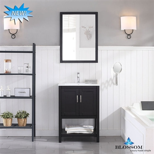 "Blossom Lucca 24"" Vanity Set with Mirror 0172402M"