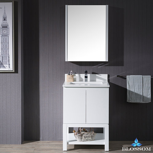"Blossom Monaco 24"" with Medicine Cabinet 0002401MC"