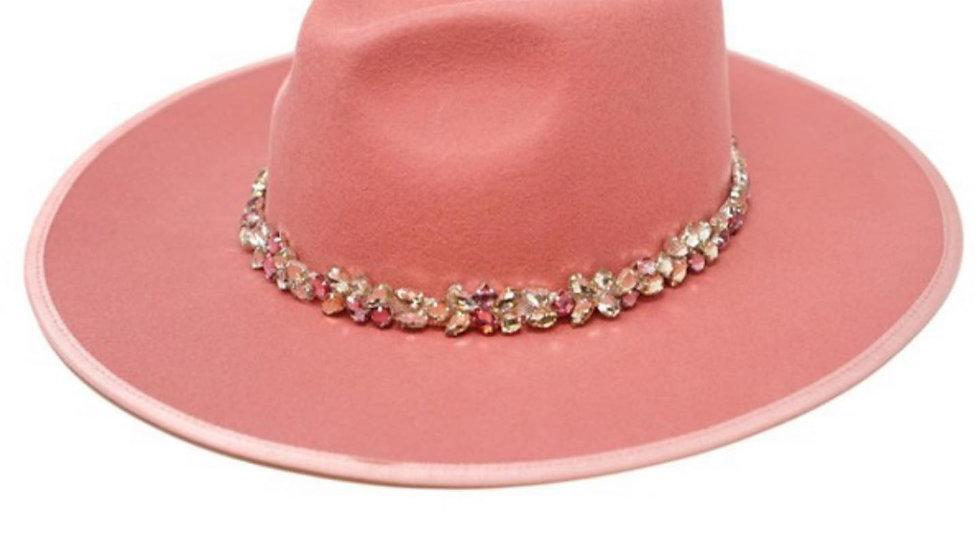 BLUSH PINK HAT