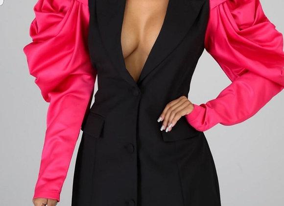 Pink Puff Blazer