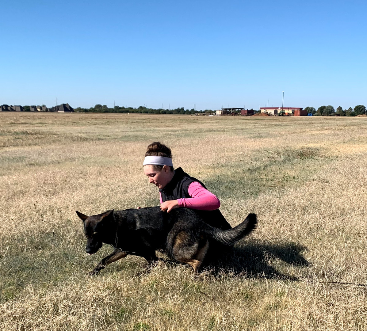 IGP/Schutzhund Trainer, Megan Clouse, & Road Warrior Empress BH, CGC, TKN, TKI