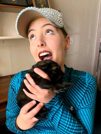 Abraxas Seahawk Puppy & BFK9 Trainer Megan Clouse