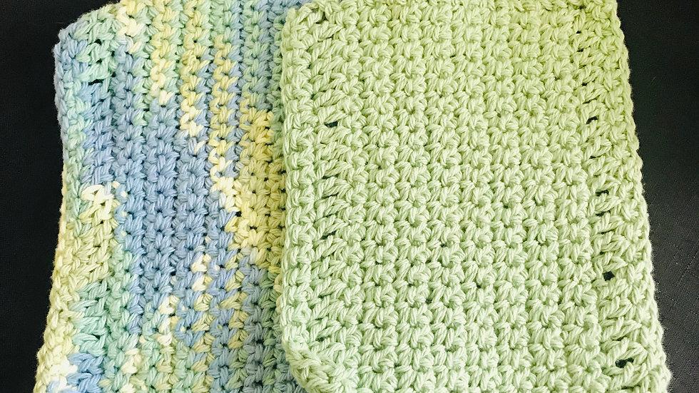 Mix washcloths set of 2