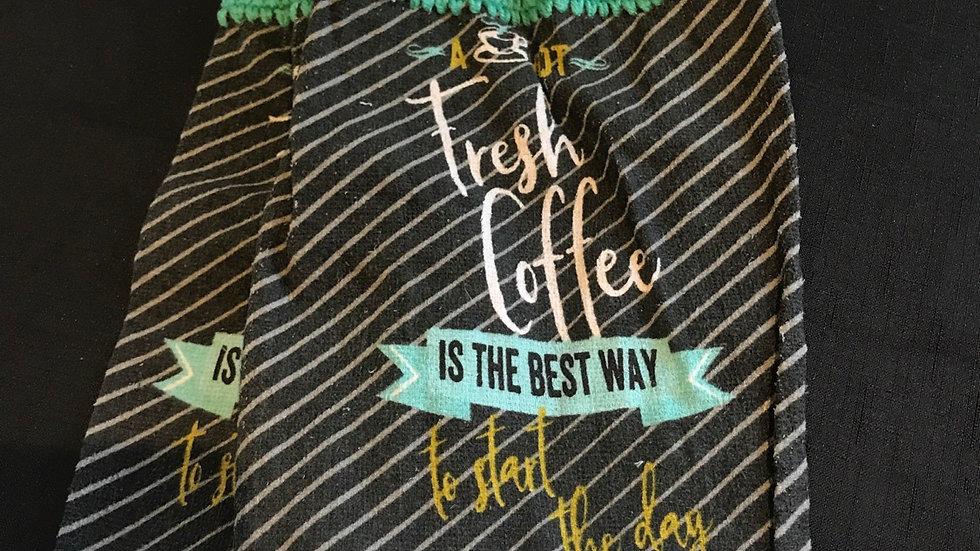 Fresh Coffee Towel Set
