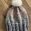 Thumbnail: Knit pom pom hat