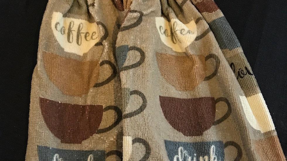 Coffe, Love, Dunk crochet towel set