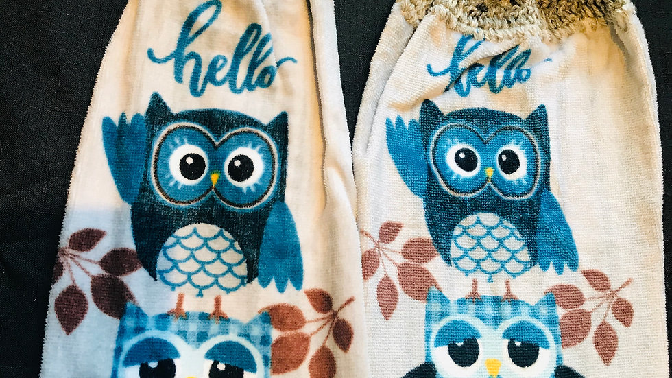 Owl Towel set