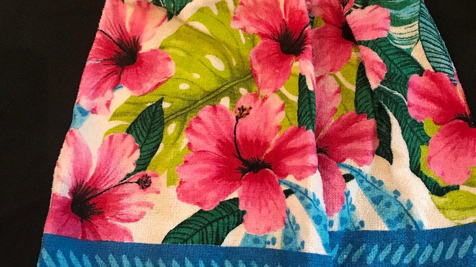 Hawaii crochet towel set