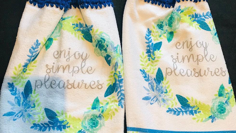 Enjoy  Simple Pleasures towel set