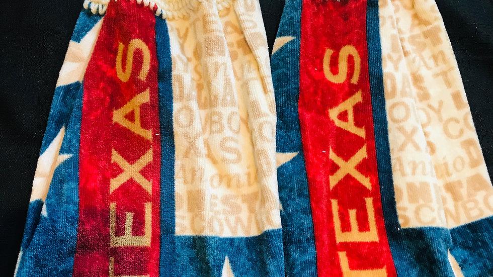 Texas crochet Towel Set