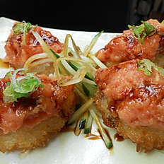 Crispy Rice with Spicy Tuna