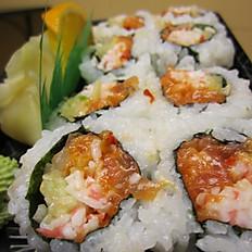 Salmon Crab Roll