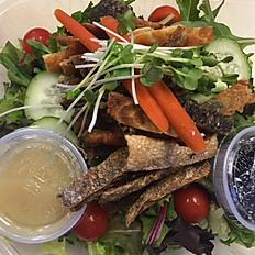 Salmon Skin Salad