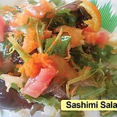 Sashimi Salad Roll