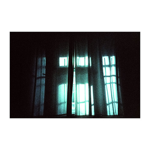 Window, analog photography artwork by Robo Melo, Belami photographer, online gallery and store
