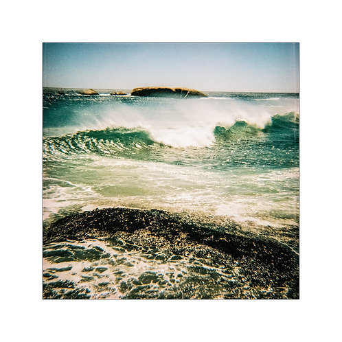 Sea, analog photography artwork by Robo Melo, Belami photographer, online gallery and store