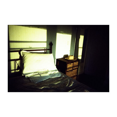 Bedroom, analog photography artwork by Robo Melo, Belami photographer, online gallery and store