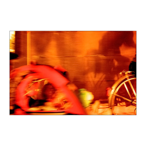 Ride redscale, analog photo,  original artcollection, Robo Melo, photographer, online gallery and store