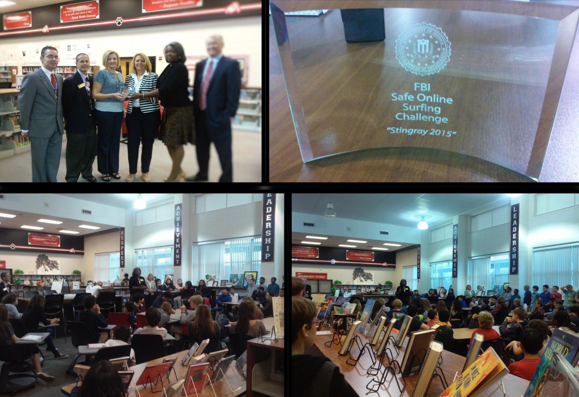 2015 FBI SOS Trophy Presentation
